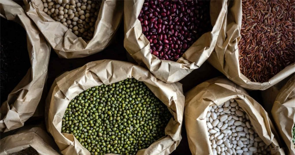 Beans and Pulses are rich in non-haem iron