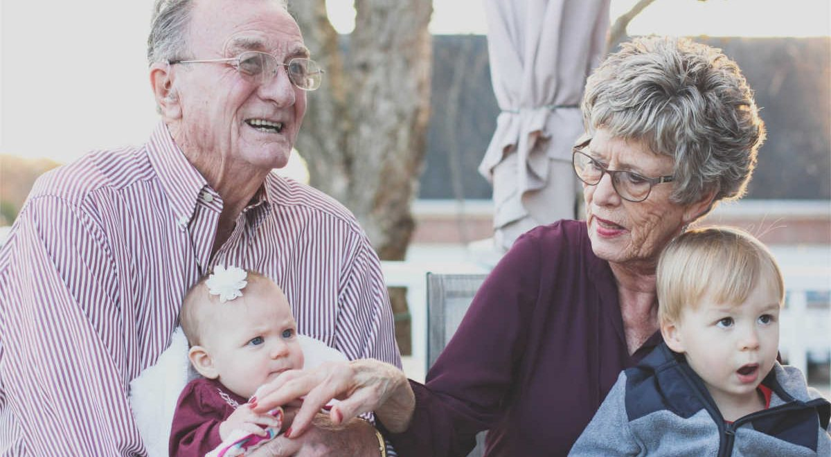 Healthy aging - grandparents