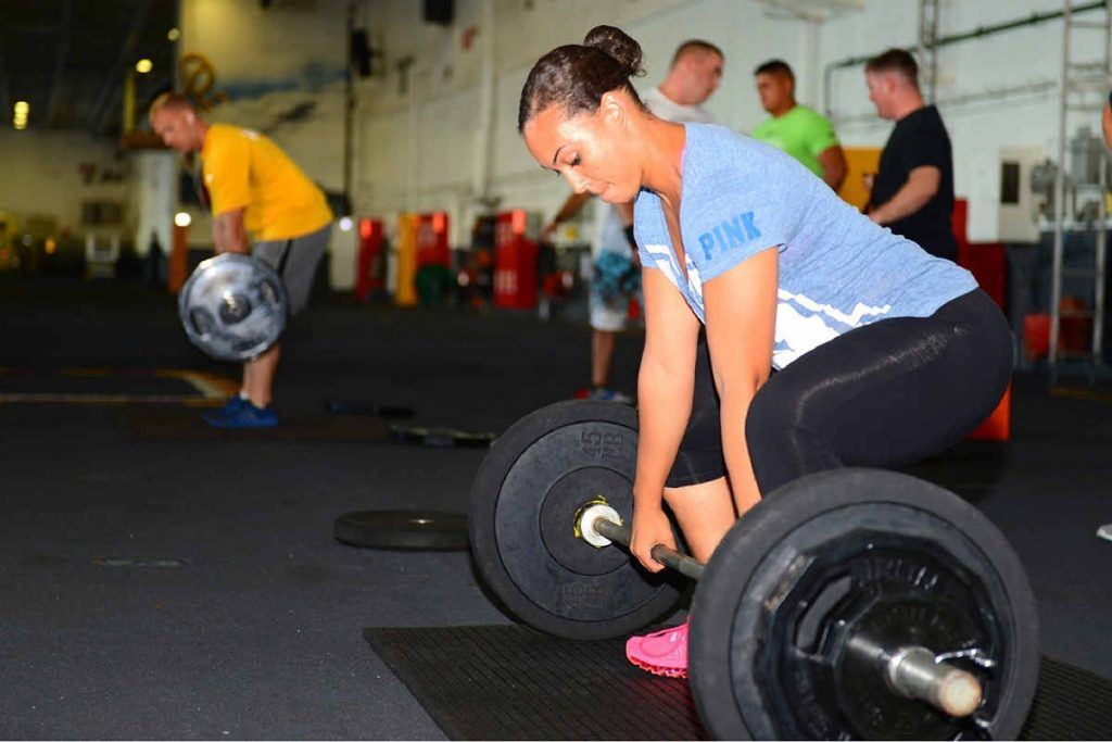 Healthy aging strength training