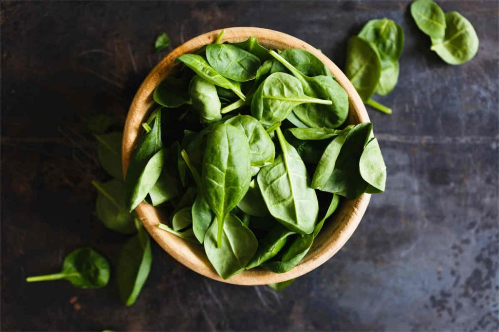 spinach is high in iron but contains iron absorption inhibitors