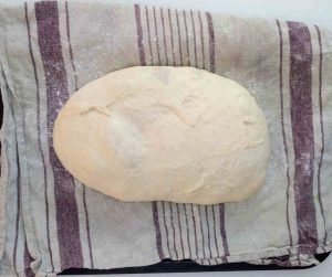 easy bread recipe bloomer on cloth