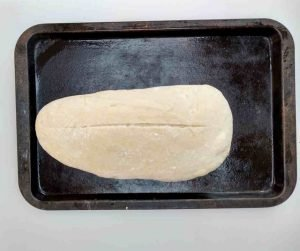 easy bread recipe slashed bloomer