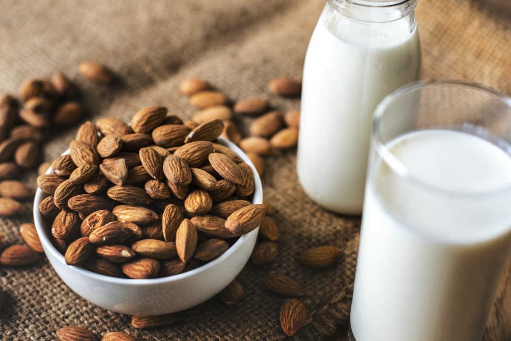 Not all milk alternatives are a good source of calcium