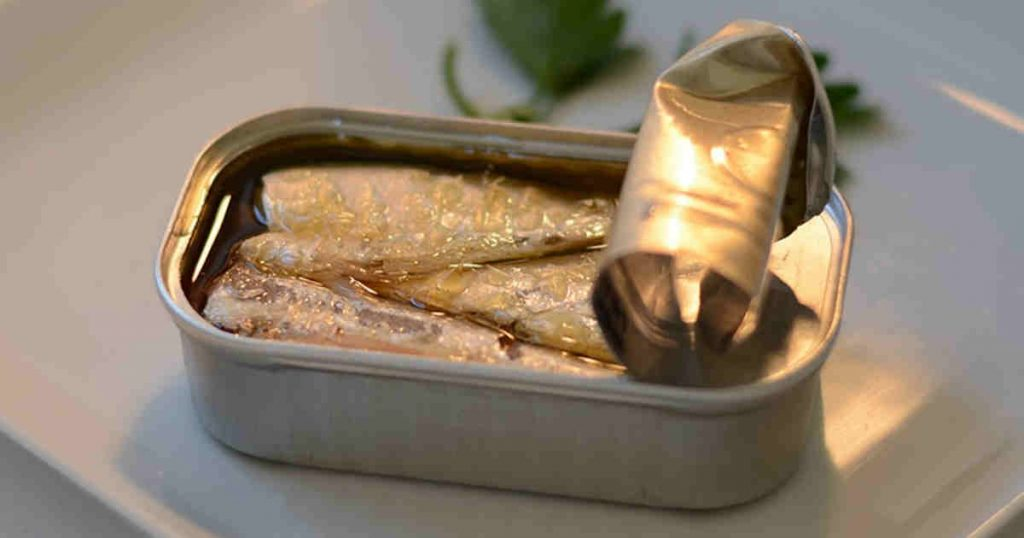 Sardines are a great calcium-rich food