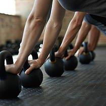 Kettlebell Class, fitness class