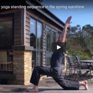 Yoga standing poses - New Yoga class Edinburgh