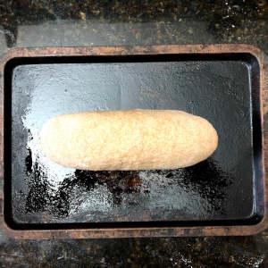 Oatmeal bread recipe shaped loaf